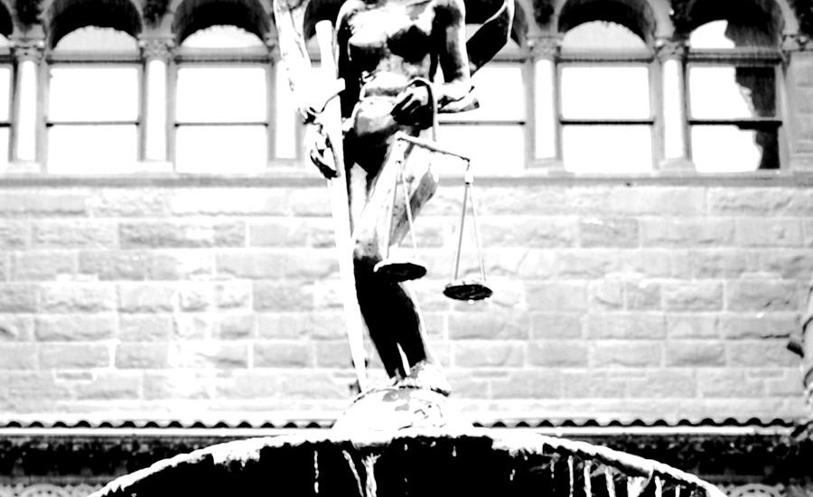 blind-naked-justice-statue-bexar-county-courthouse-san-antonio-texas-square-format-bw-conte-crayon-shawn-obrien